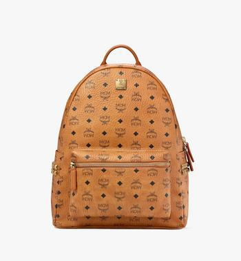 MCM Stark Side Studs Backpack in Visetos MMK6SVE38CO001 AlternateView