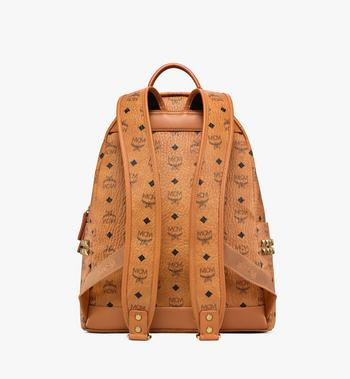 MCM Stark Side Studs Backpack in Visetos MMK6SVE38CO001 AlternateView4