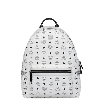 MCM Stark Side Studs Backpack in Visetos MMK6SVE38WT001 AlternateView
