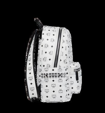 MCM Stark Side Studs Backpack in Visetos MMK6SVE38WT001 AlternateView3