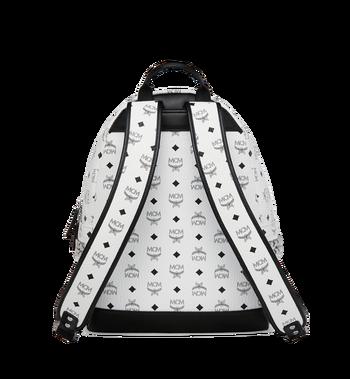 MCM Stark Side Studs Backpack in Visetos MMK6SVE38WT001 AlternateView4
