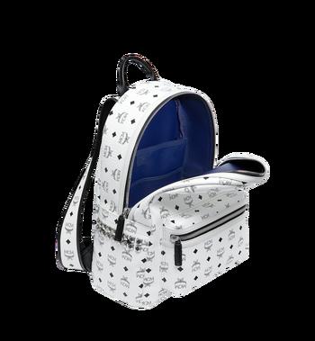 MCM Stark Side Studs Backpack in Visetos MMK6SVE38WT001 AlternateView5