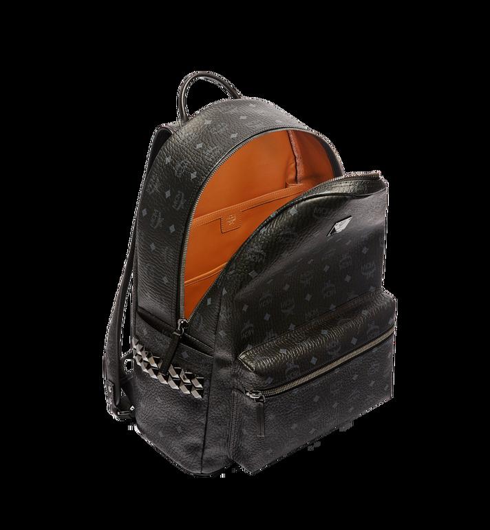 MCM Stark Side Studs Backpack in Visetos MMK6SVE39BK001 AlternateView5