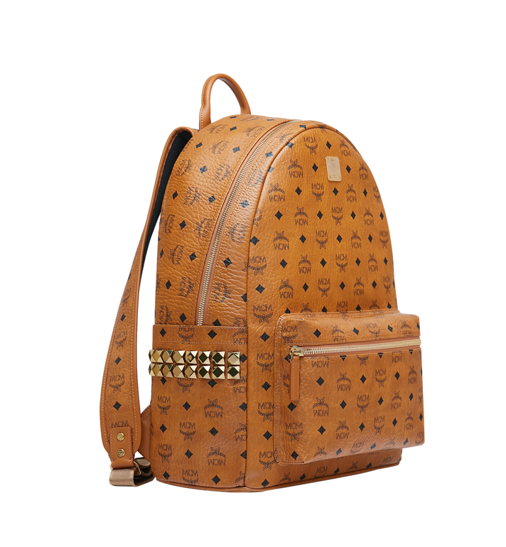 MCM Stark Side Studs Backpack in Visetos MMK6SVE39CO001 AlternateView2