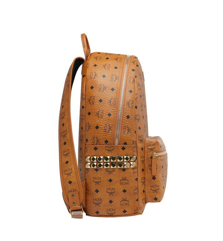 MCM Stark Side Studs Backpack in Visetos MMK6SVE39CO001 AlternateView3