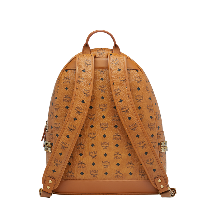 MCM Stark Side Studs Backpack in Visetos MMK6SVE39CO001 AlternateView4