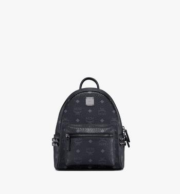 MCM Stark Side Studs Rucksack in Visetos MMK6SVE41BK001 AlternateView
