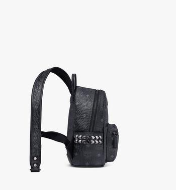 MCM Stark Side Studs Rucksack in Visetos MMK6SVE41BK001 AlternateView2