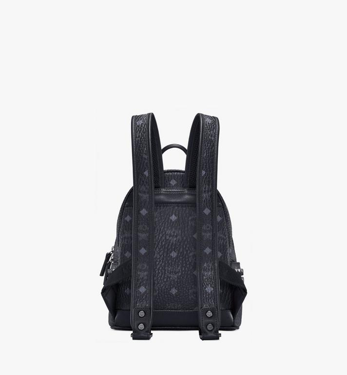 MCM Stark Side Studs Backpack in Visetos MMK6SVE41BK001 AlternateView4