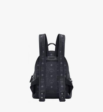 MCM Stark Side Studs Rucksack in Visetos MMK6SVE41BK001 AlternateView4