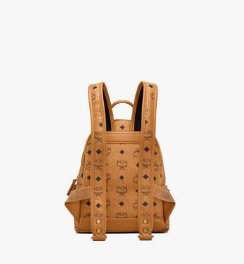 MCM Stark Side Studs Backpack in Visetos MMK6SVE41CO001 AlternateView4