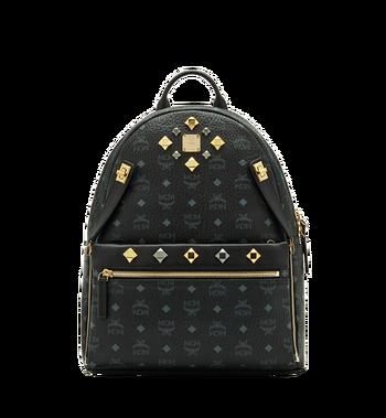 MCM Dual Stark Backpack in Visetos MMK6SVE79BK001 AlternateView
