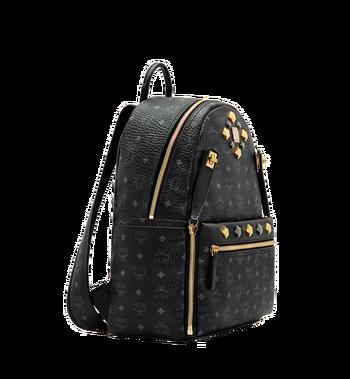 MCM Dual Stark Backpack in Visetos MMK6SVE79BK001 AlternateView2