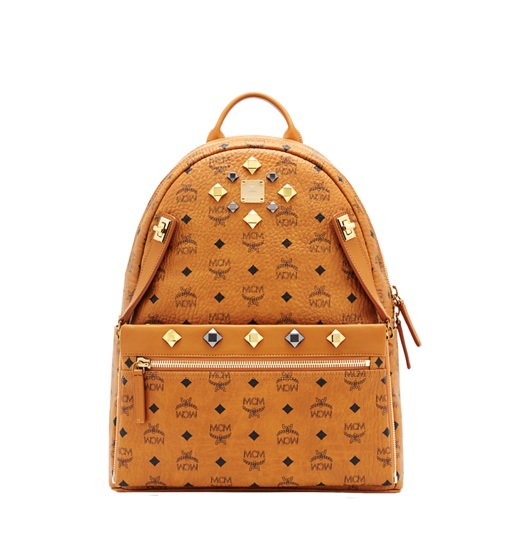 MCM Dual Stark Rucksack in Visetos MMK6SVE79CO001 AlternateView