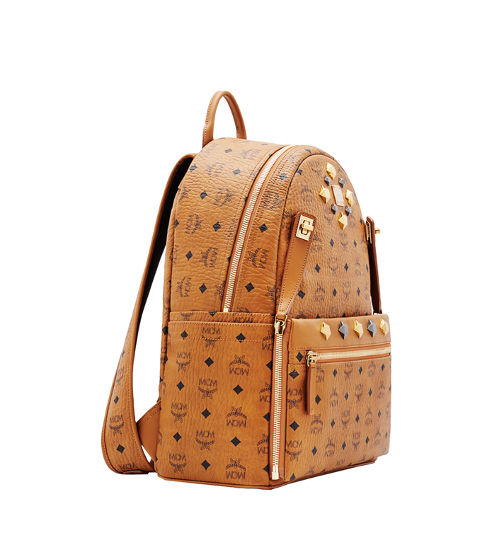 MCM Dual Stark Rucksack in Visetos MMK6SVE79CO001 AlternateView2