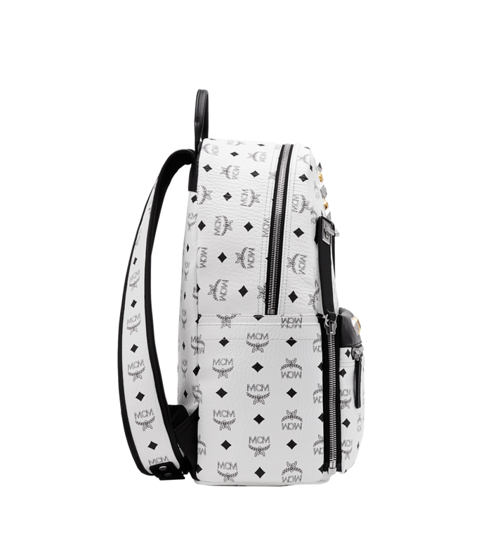 MCM Dual Stark Backpack in Visetos MMK6SVE79WT001 AlternateView3