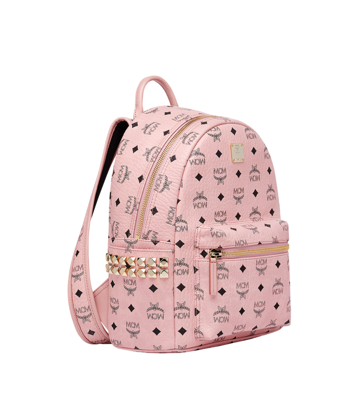 MCM Stark Side Studs Backpack in Visetos MMK7AVE37PZ001 AlternateView2
