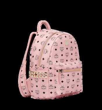 MCM Stark Side Studs Backpack in Visetos MMK7AVE37PZ001 AlternateView2