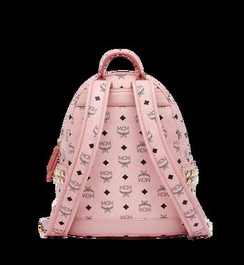 MCM Stark Side Studs Backpack in Visetos MMK7AVE37PZ001 AlternateView4