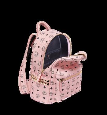MCM Stark Side Studs Backpack in Visetos MMK7AVE37PZ001 AlternateView5