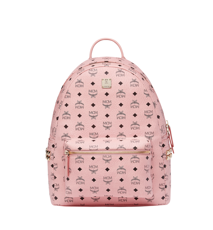 MCM Stark Side Studs Backpack in Visetos MMK7AVE38PZ001 AlternateView