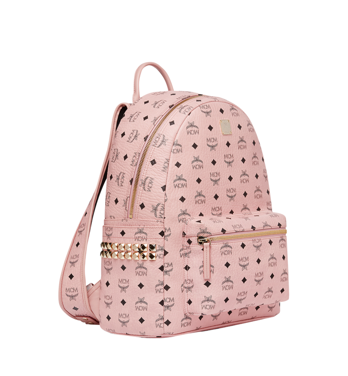 MCM Stark Side Studs Backpack in Visetos MMK7AVE38PZ001 AlternateView2