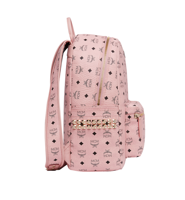 MCM Stark Side Studs Backpack in Visetos MMK7AVE38PZ001 AlternateView3