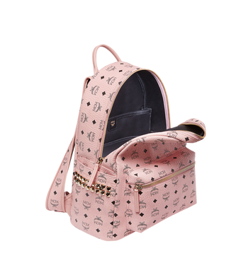 MCM Stark Side Studs Backpack in Visetos MMK7AVE38PZ001 AlternateView5