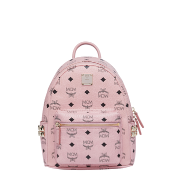 MCM Stark Side Studs Backpack in Visetos MMK7AVE41PZ001 AlternateView