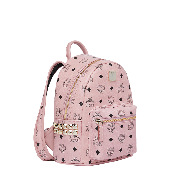 MCM Stark Side Studs Backpack in Visetos MMK7AVE41PZ001 AlternateView2