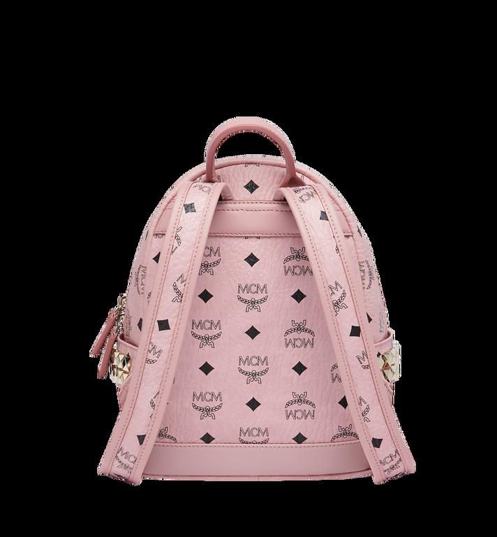 MCM Stark Side Studs Backpack in Visetos AlternateView4