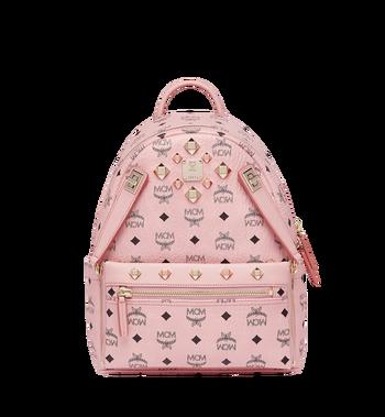 MCM Dual Stark Backpack in Visetos MMK7AVE80PZ001 AlternateView