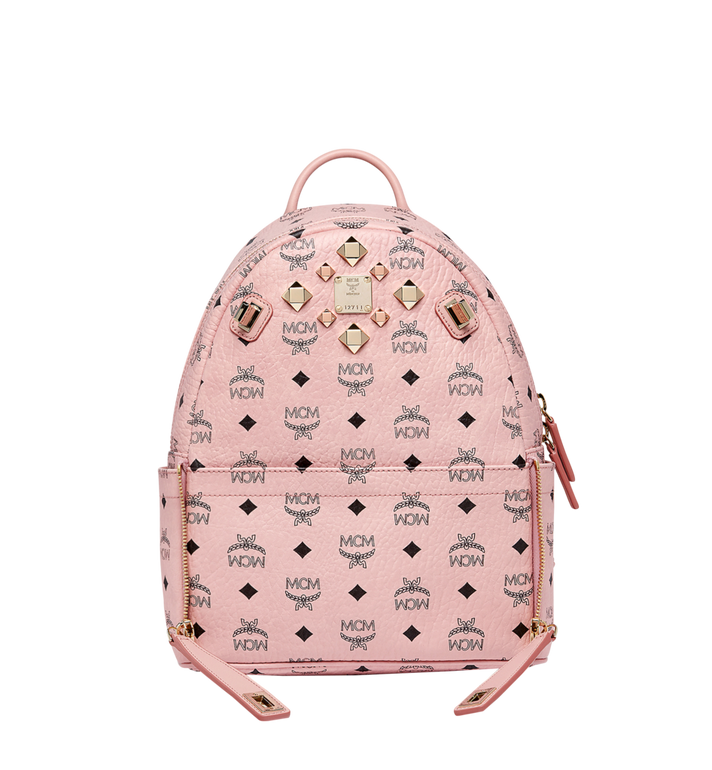 MCM Dual Stark Rucksack in Visetos MMK7AVE80PZ001 AlternateView5