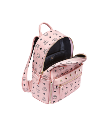 MCM Dual Stark Backpack in Visetos MMK7AVE80PZ001 AlternateView7