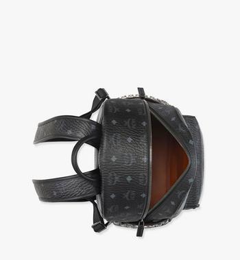 MCM Stark Side Studs Backpack in Visetos MMK7AVE99BK001 AlternateView3