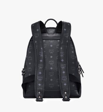 MCM Stark Side Studs Backpack in Visetos MMK7AVE99BK001 AlternateView4