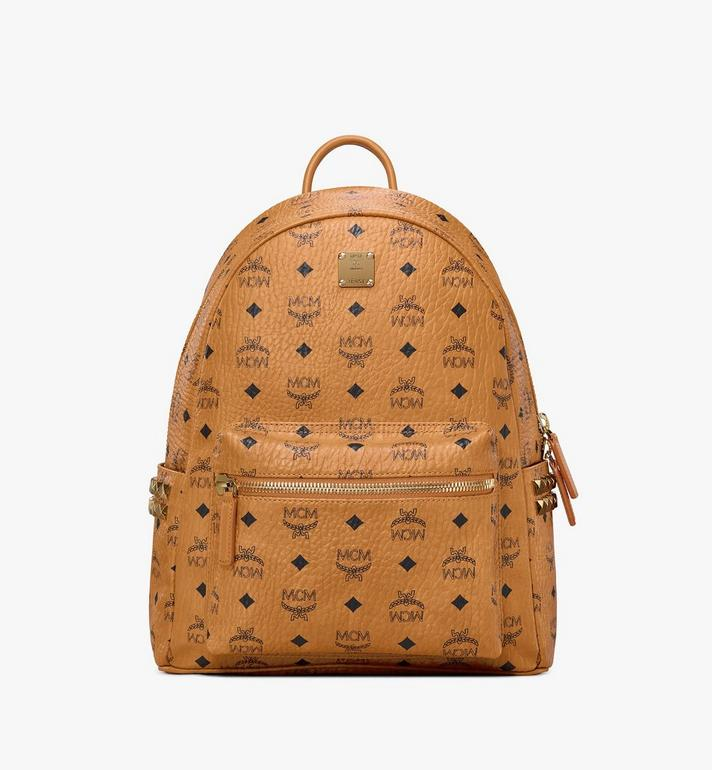 MCM Stark Side Studs Rucksack in Visetos AlternateView