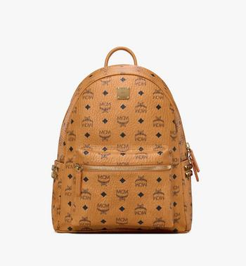 MCM Stark Side Studs Backpack in Visetos MMK7AVE99CO001 AlternateView
