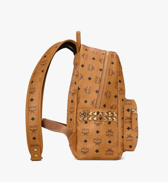 MCM Stark Side Studs Rucksack in Visetos AlternateView2