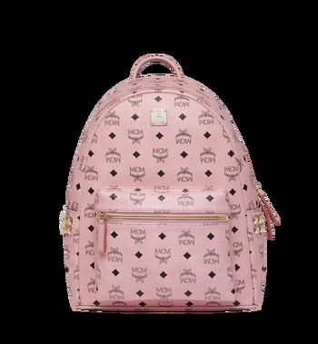 MCM Stark Side Studs Backpack in Visetos MMK7AVE99PZ001 AlternateView