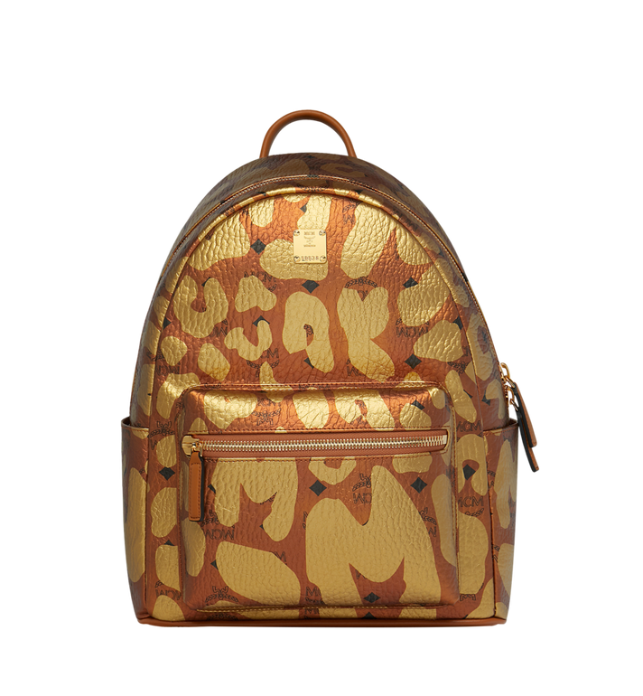 MCM Stark Backpack in MCM Leopard Print MMK8AVE13CO001 AlternateView