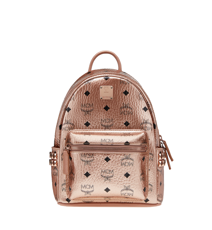 MCM Stark Side Studs Backpack in Visetos MMK8AVE47TC001 AlternateView