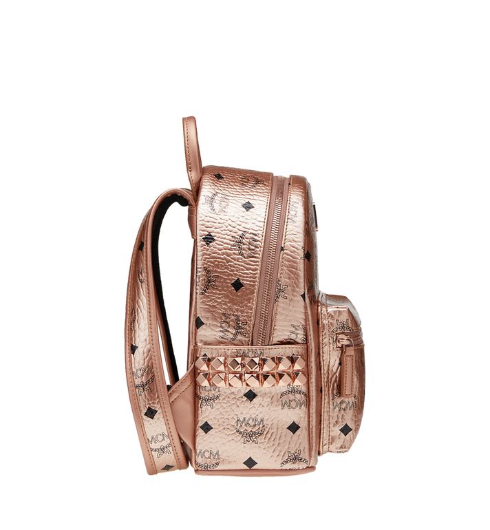 MCM Stark Side Studs Backpack in Visetos MMK8AVE47TC001 AlternateView3