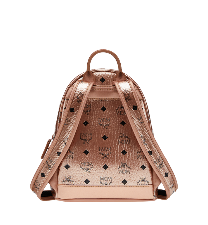 MCM Stark Side Studs Backpack in Visetos MMK8AVE47TC001 AlternateView4