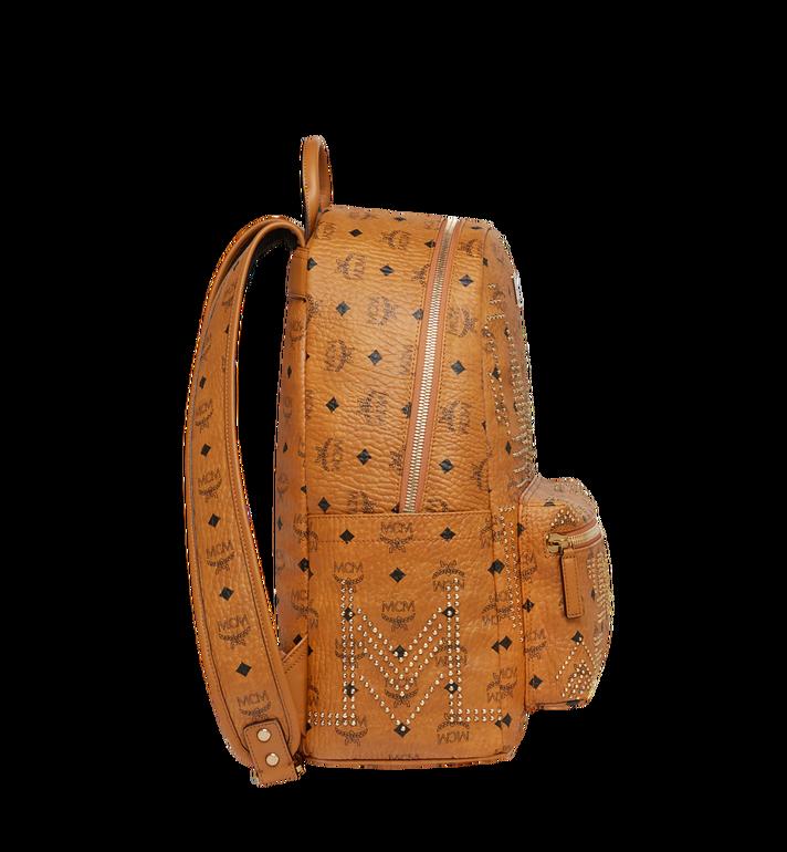 MCM Stark Backpack in Gunta M Studs Visetos MMK8AVE55CO001 AlternateView3