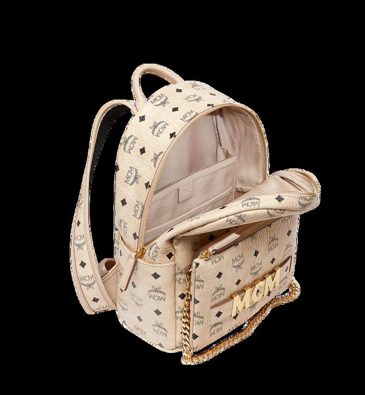 MCM Trilogie Stark Backpack in Visetos MMK8AVE83IG001 AlternateView7