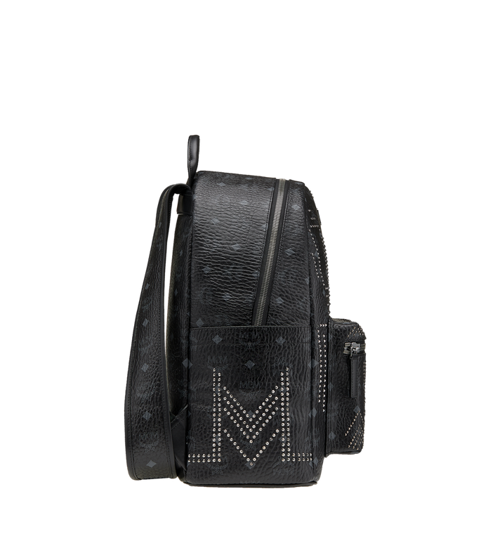 MCM Stark Backpack in Gunta M Studs Visetos MMK8AVE89BK001 AlternateView3