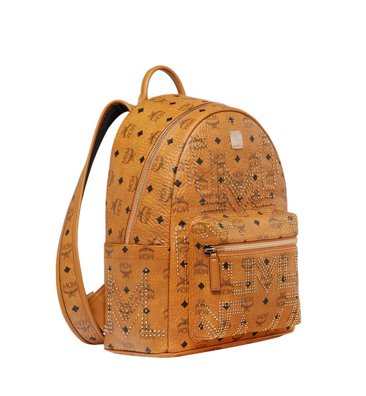 MCM STARK RUCKSACK IN GUNTA M STUDS VISETOS MMK8AVE89CO001 AlternateView2