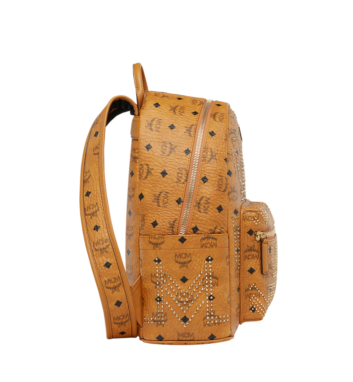 MCM STARK RUCKSACK IN GUNTA M STUDS VISETOS MMK8AVE89CO001 AlternateView3