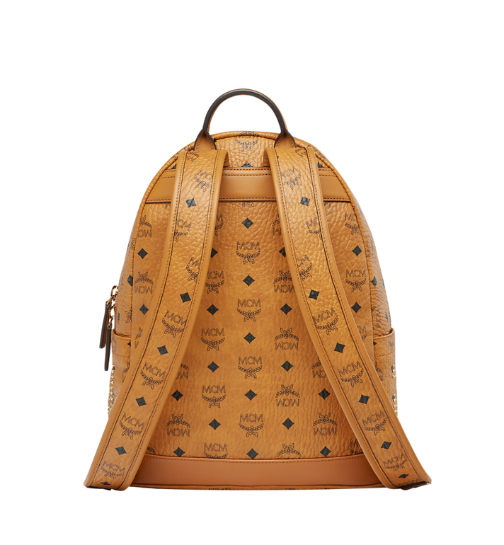 MCM Stark Backpack in Gunta M Studs Visetos MMK8AVE89CO001 AlternateView4